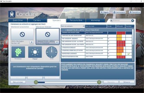 Screenshot for Scénarios Apple Valley Francisés
