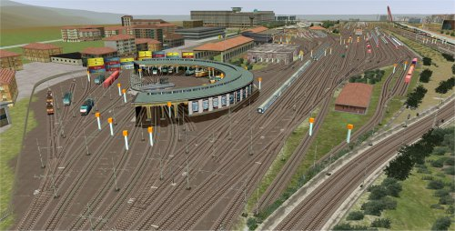 Screenshot for QD Visite du Turin ferroviaire