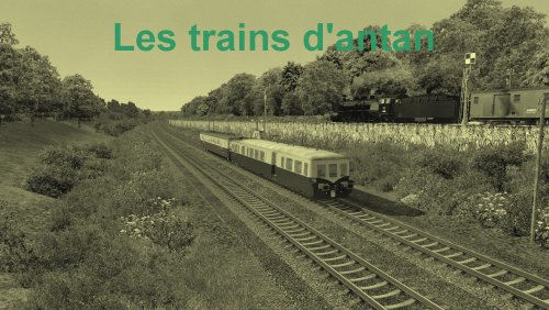Screenshot for Les trains d'antan /ligne fictive /V1