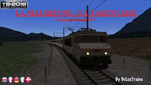 """Screenshot for Pack de scénarios 01 """"La Maurienne - La Tarentaise"""""""