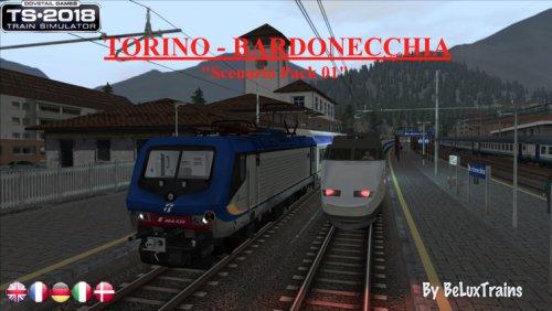 """Screenshot for Pack de scénarios 01 """"Torino - Bardonecchia"""""""