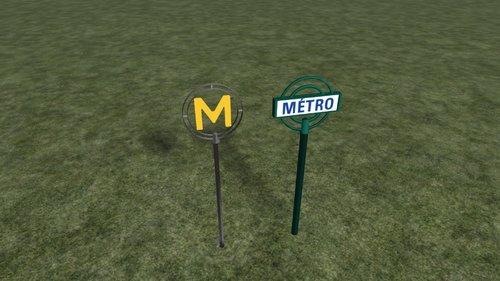 "Screenshot for Mât ""METRO"" RATP"