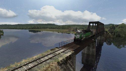 Screenshot for The abandoned railroad