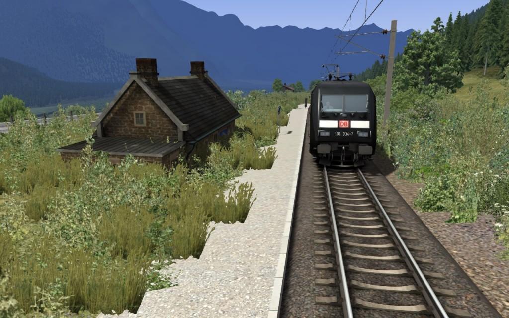 C'est triste, les gares abandonnées! :(