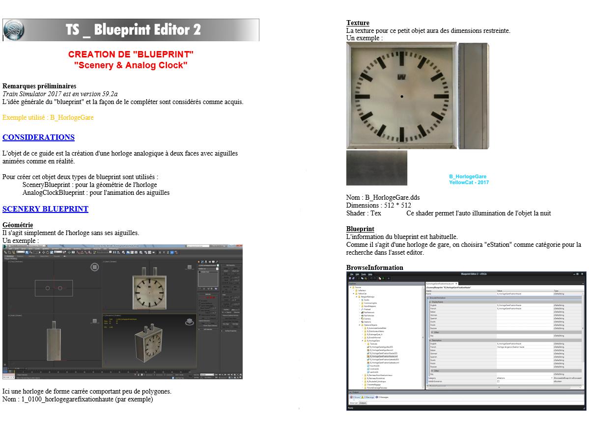 Le tutoriel d'Anoel détaille pas à pas chaque étape pour créer une horloge fonctionnelle.