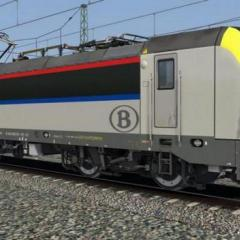 Screenshot for 1801 SNCB (Reskin vectron RSSLO en type 18 SNCB)