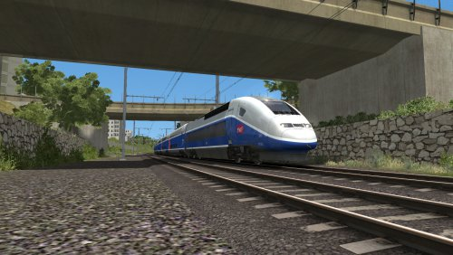 Screenshot for Marseille to Avignon (TGV Duplex)