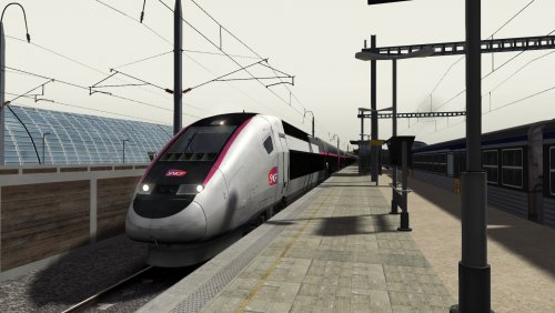 Screenshot for Avignon to Marseille (TGV Duplex Carmillon)