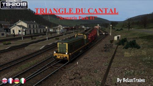 """Pack de scénarios 01 """"Le Triangle du Cantal"""""""