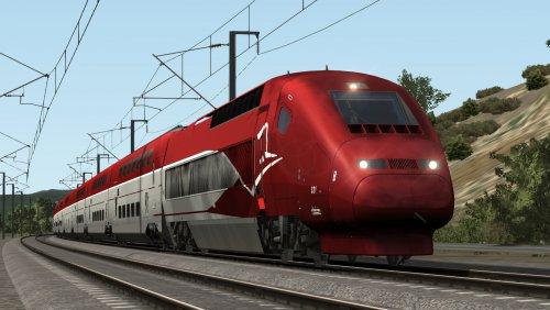 Screenshot for Thalys to Avignon (TGV Duplex Thalys PBKA)