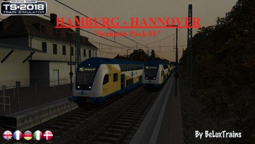 "Screenshot for Pack de scénarios 01 ""Hamburg-Hannover"""
