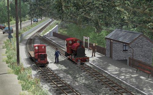 Screenshot for 2 scénarios standards pour la ligne Corris Railway