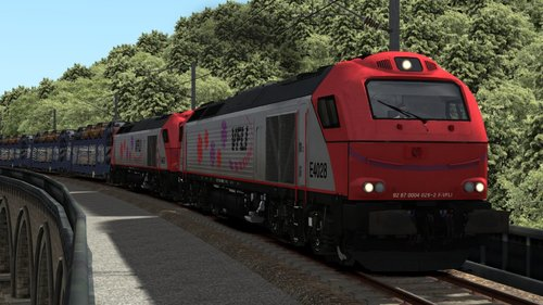 Screenshot for GEFCO Freight Eastbound (Euro 4000 VFLI) Scenario For La Bosse V1.0 Route