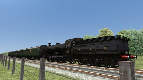 Screenshot for Railway Operating Division Ambulance Train Reskin Pack