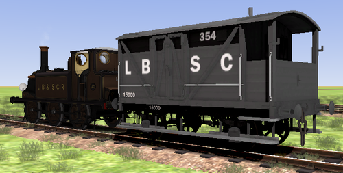 Screenshot for LBSCR Wagon Reskin Pack 1
