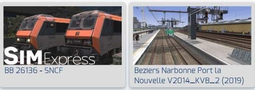 Screenshot for BB 26000 TER 200 Beziers Port la Nouvelle C140  Port la Nouvelle Beziers