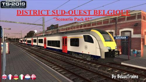"""Screenshot for Pack de scénarios 02 """"District du Sud-Ouest Belgique"""""""