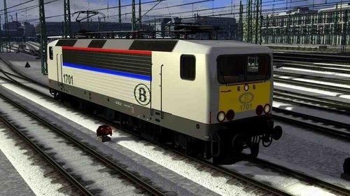 Screenshot for Preload  BR 143 SNCB  ( fictiv )  Reskin