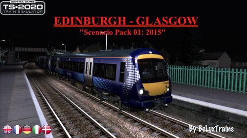 "Screenshot for Scenario Pack 01 ""Edinburgh-Glasgow"""