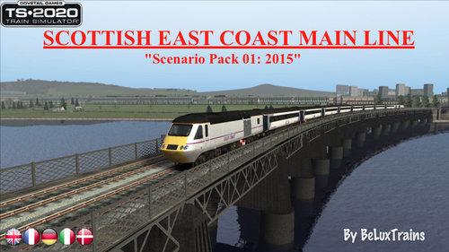 "Screenshot for Scenario Pack 01 ""Scottish East Coast Main Line"""