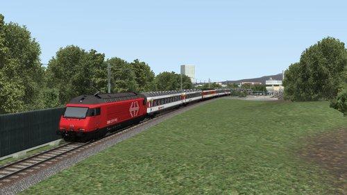 """Screenshot for Paquet de scénarios pour la ligne """"Zurich - Olten"""" de B42 Rail"""