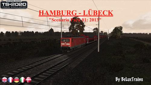 "Screenshot for Scenario Pack 01 ""Hamburg-Lübeck"""