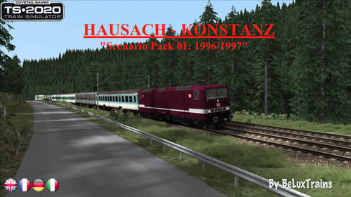 "Screenshot for Scenario Pack 01 ""Hausach-Konstanz"""