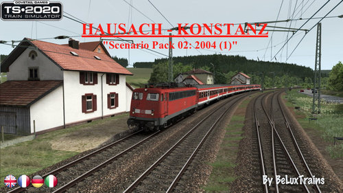 "Screenshot for Scenario Pack 02 ""Hausach-Konstanz"""
