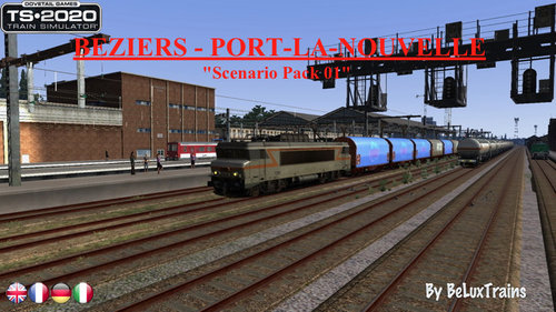 "Screenshot for Scenario Pack 01 ""Béziers-Port-la-Nouvelle"""