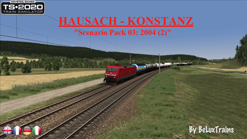"Screenshot for Scenario Pack 03 ""Hausach-Konstanz"""