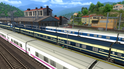 Screenshot for 3DZUG Talgo ICN Renfe/Elipsos Trenhotel