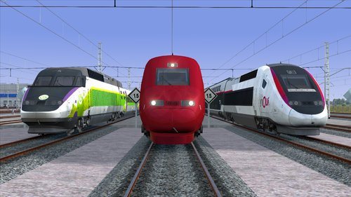 Screenshot for Thalys und TGV