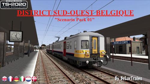 "Screenshot for Scenario Pack 01 ""District Sud-Ouest Belgique"""
