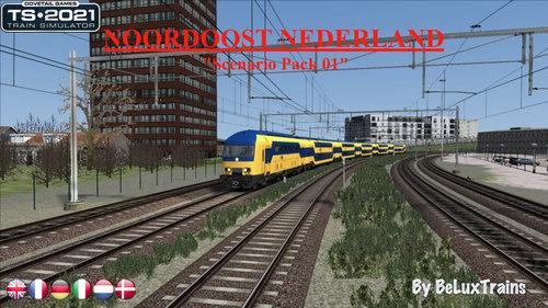 """Screenshot for Scenario Pack 01 """"Noordoost Nederland"""""""