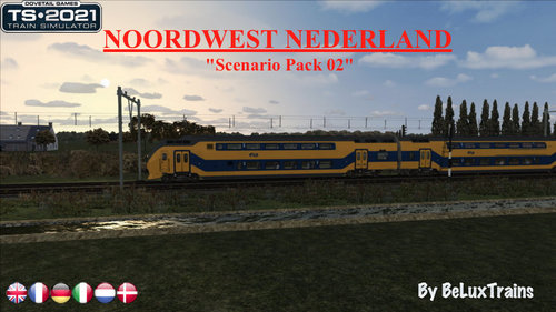 "Screenshot for Scenario Pack 02 ""Noordwest Nederland"""