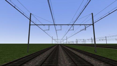 Screenshot for Caténaires 3Kv Belgique (V1.0)