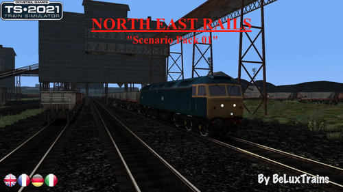 "Screenshot for Scenario Pack 01 ""North East Rails"""