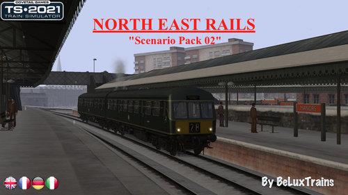 """Screenshot for Pack de scénarios 02 """"North East Rails"""""""