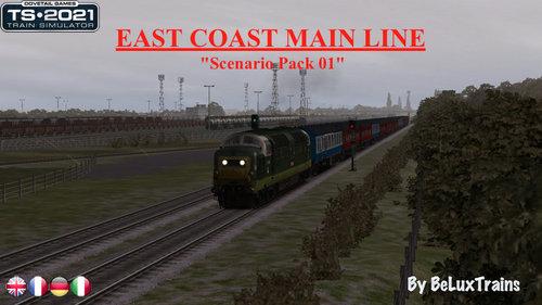 "Screenshot for Scenario Pack 01 ""East Coast Main Line"""