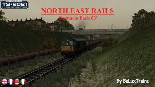 "Screenshot for Scenario Pack 03 ""North East Rails"""
