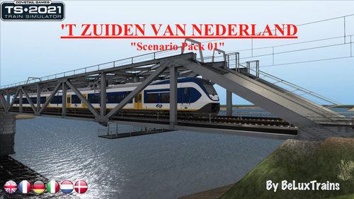 """Screenshot for Scenario Pack 01 """"t Zuiden van Nederland"""""""