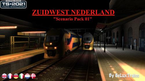 "Screenshot for Scenario Pack 01 ""Zuidwest Nederland"""