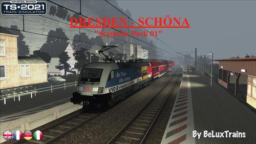 """Screenshot for Scenario Pack 01 """"Dresden-Schöna"""""""