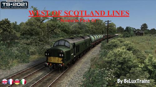 """Screenshot for Scenario Pack 01 """"West of Scotland Lines"""""""