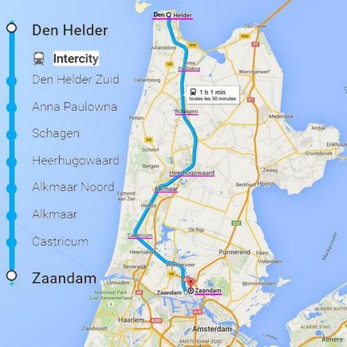 route  van Den Helder tot Zaandam.jpg