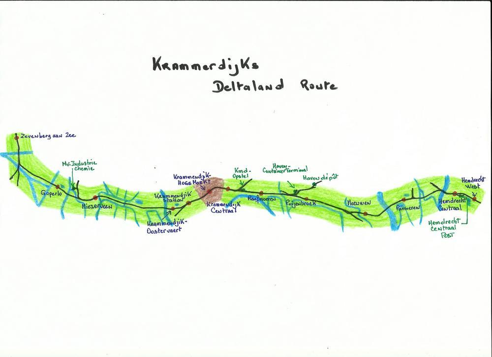 Krammerdijks Deltaland route.jpg