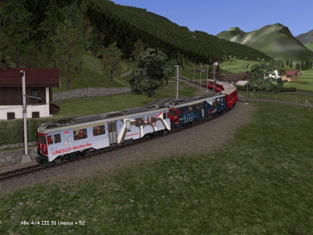 ABe 44 III 51 + 52 Bernina Tirano .7.09.jpg